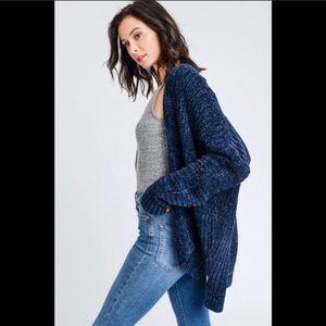 Sweaters - Chenille Cardigan